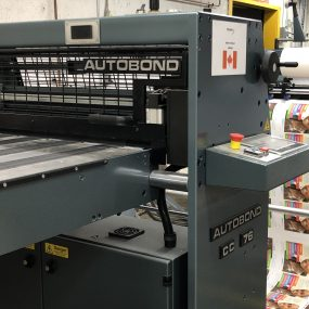 Investing in Latest Printing Technologies – Introducing Our New Laminator.